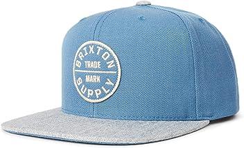Brixton Mens Oath Iii Medium Profile Adjustable Snapback Hat