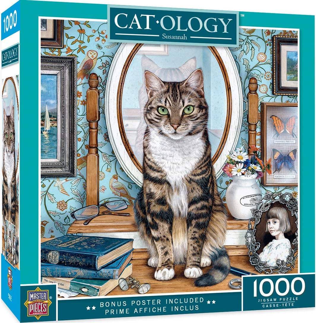 Savannah 1000 Piece Jigsaw Puzzle MasterPieces Catology Puzzles Collection