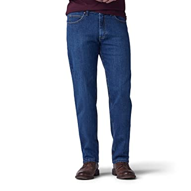 ecc921b772 Amazon.com  LEE Men s Big and Tall Big   Tall Regular Fit Straight Leg Jean   Clothing