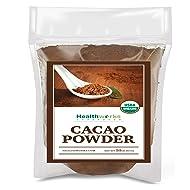 Healthworks Cacao Powder (32 Ounces / 2 Pounds) | Cocoa Chocolate Substitute | Certified Organic | Sugar-Free, Keto, Vegan & Non-GMO | Peruvian Bean/Nut Origin | Antioxidant Superfood
