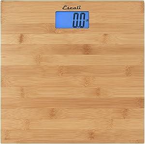 Escali ECO200 Bathroom Scale, Bamboo
