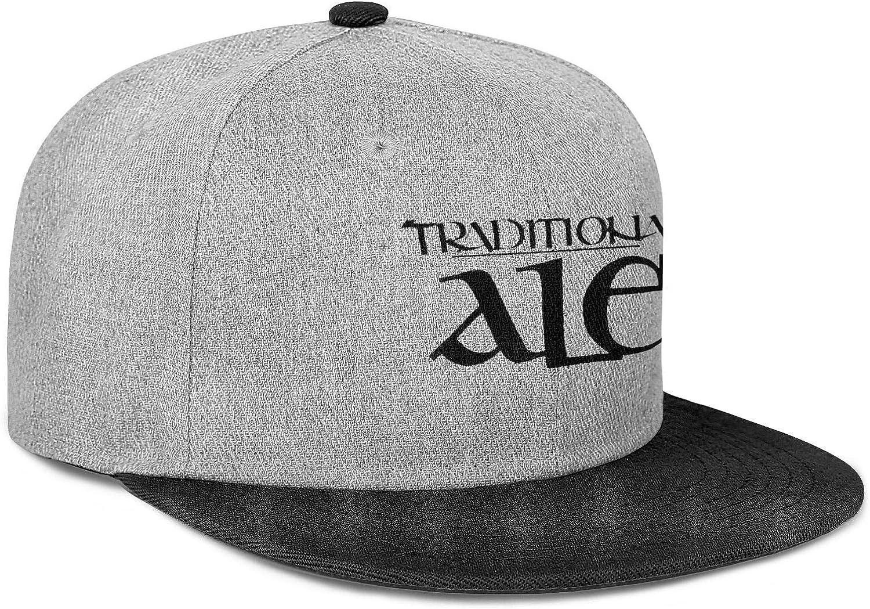 Big Rock Traditional ALE Logo Men Women Wool Hip Hop Cap Adjustable Snapback Sun Hat