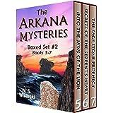 The Arkana Mysteries: Boxed Set #2: Books 5-7 (The Arkana Mysteries: Ebook Boxed Set)