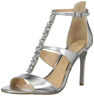60f65967497 Amazon.com  Badgley Mischka Women s Mica Heeled Sandal  Shoes