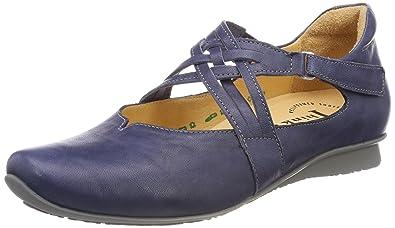 Womens Kapsl_282061 Ankle Strap Ballet Flats, Pink (Rosa/Kombi 33), 8.5 UK Think