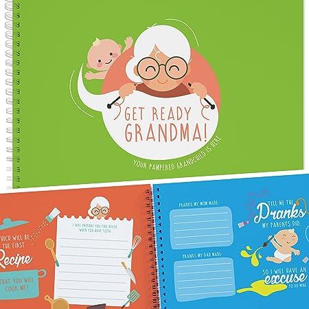 El Mejor Regalo Para la Abuela. Un Adorable Libro de Recuerdos para Atesorar los Mejores Momentos con la Abuela y el Nieto o Nieta. Regalos para Abuelas, Album de Fotos y Actividades.: