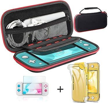 Funda para Nintendo Switch lite,Kit accesorios para Switch Lite ,Última Versión de Estuche de Transporte Para ...