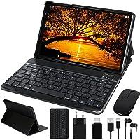 Tablet 10 Pulgadas FACETEL Android 10 Tablets Octa-Core 1.6 GHz con 4GB + 64GB (TF 128GB), Tablet con Teclado y Mouse…