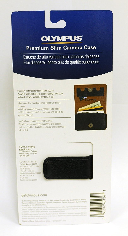 Olympus Textur Leather Case (Black)