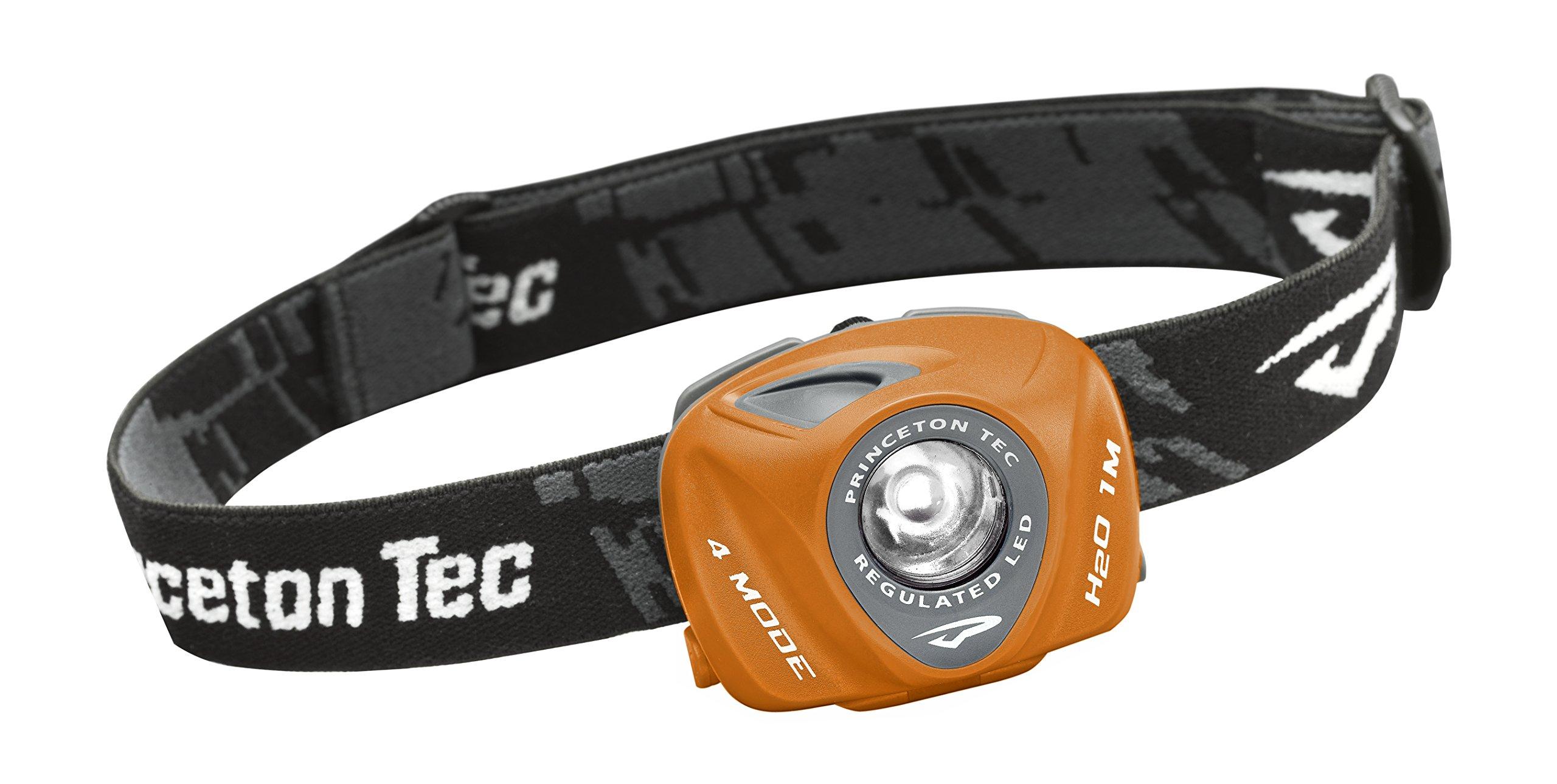 Princeton Tec EOSR Headlamp (Orange/Gray)