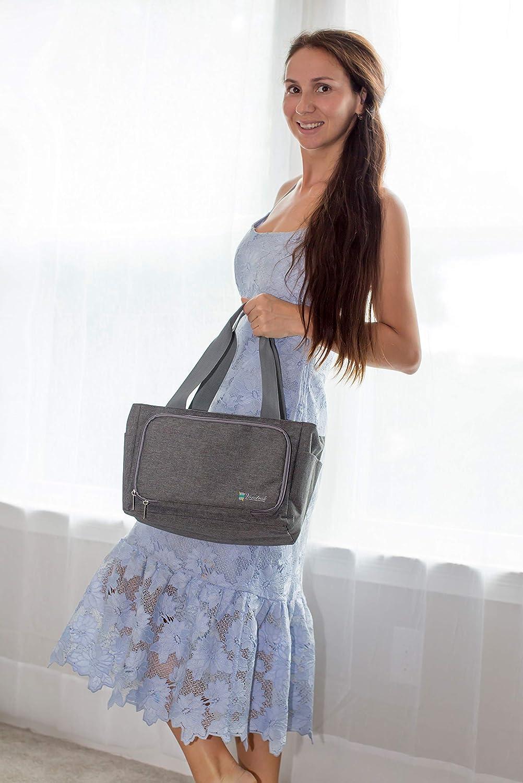 Gray Vondrak Yarn Storage Bag