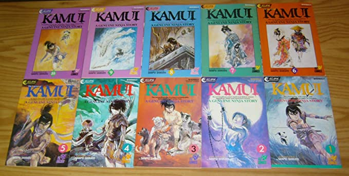 Amazon.com: The Legend of Kamui #1-37 VF to VF/NM complete ...