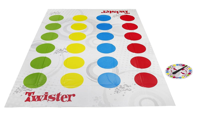 Hasbro Gaming Twister versi/ón en ingl/és juego de suelo
