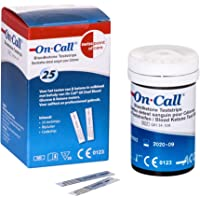 Swiss Point Of Care GK Dual Ketone Teststreifen | 25 Stück passend für den GK Dual Blood Glucose & Ketone Meter | zur exakten Messung von Blut-beta-Keton