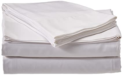 Queen White Silky Soft Bed Sheets 100% Rayon From Bamboo Sheet Set