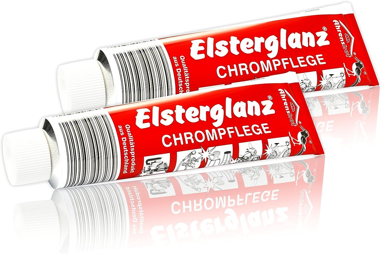 2x 150ml Elsterglanz Chrom Politur Polierpaste 3 86eur 100ml Küche Haushalt