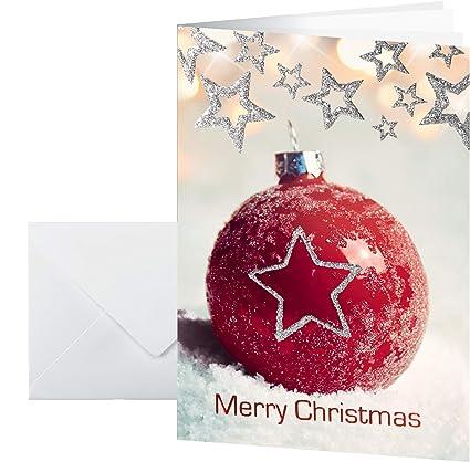 Sigel DS060 - Juego de tarjetas de Navidad (con sobre, DIN A6, 10 ...