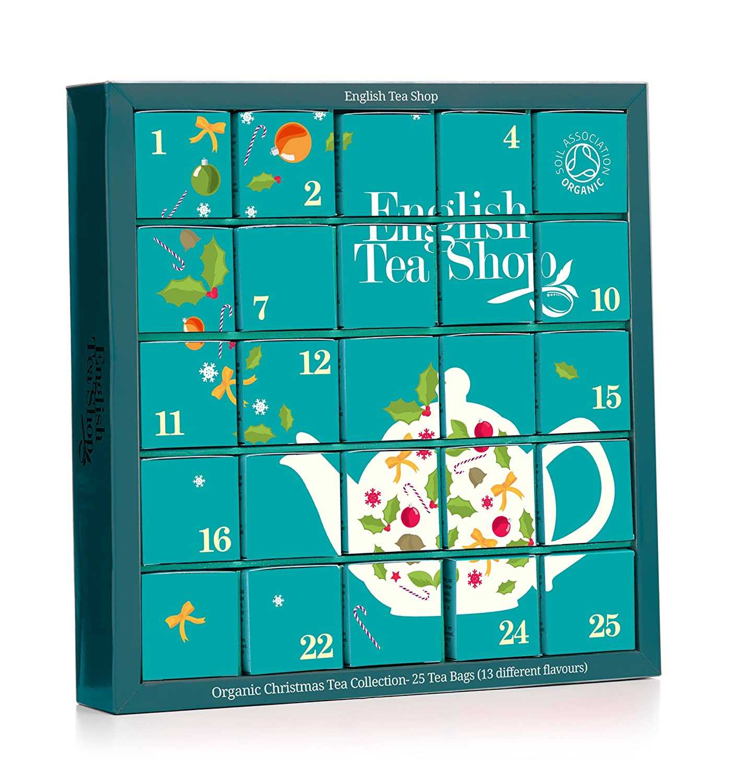 English Tea Shop Organic Blue Advent Calendar Tea Bags,25 Count Amazoncouk