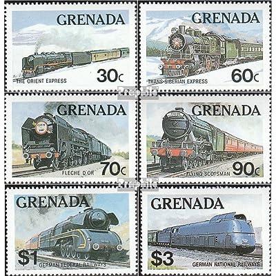 grenade 1153-1158 (complète.Edition.) 1982 cours (Timbres pour les collectionneurs)