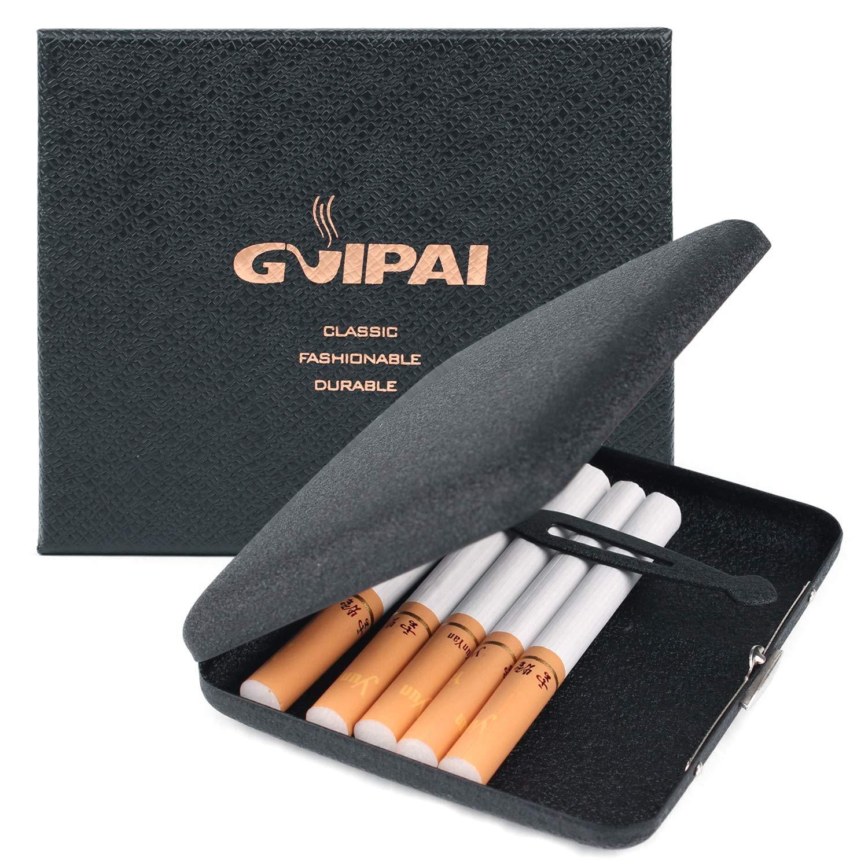 Cigarette Case, Danolt Frosted Metal Flip Cover Cigarette Case for 20  Cigarettes, Pressure Prevention