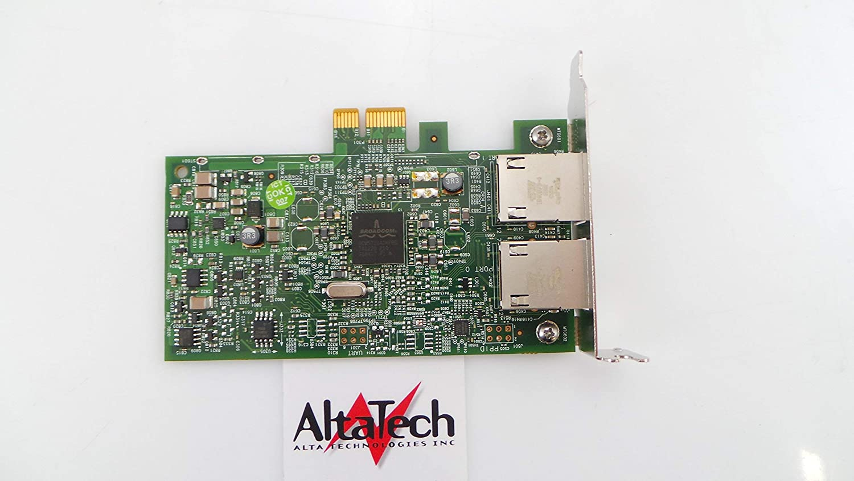 Dell Broadcom 5720 Dual Port Gigabit Ethernet Adapter NIC PCIe x1 Profile 557M9