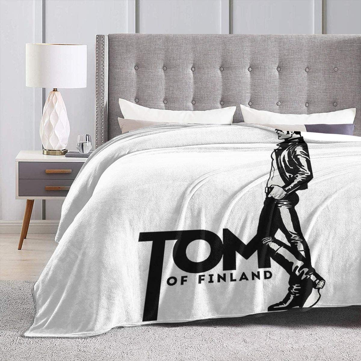 Gifetee Tom of Finland Ultra Soft Micro Fleece Blanket Couch 50 x40