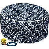 Amazon.com: FBTS - Taburete de pie y otomano inflable para ...