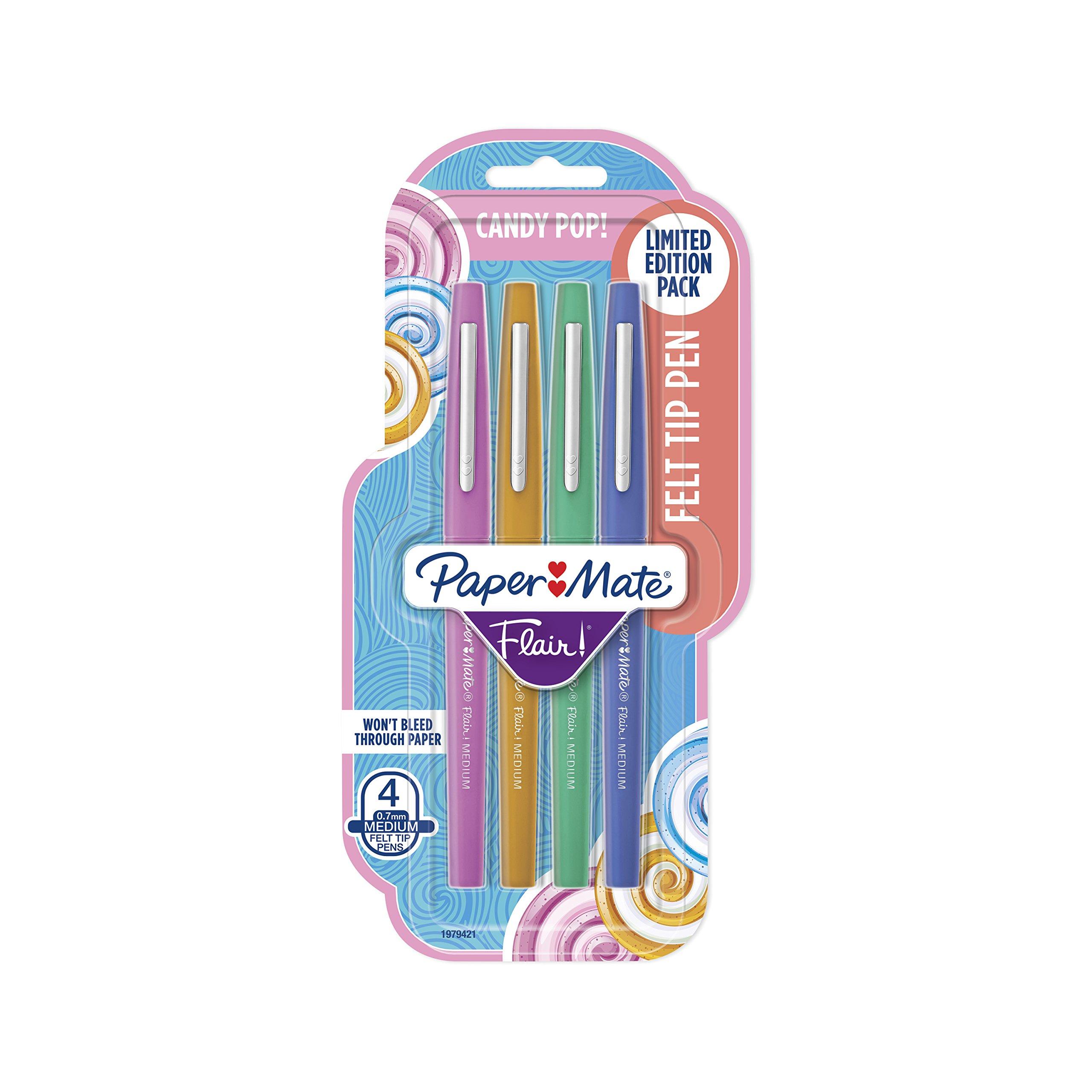 4 x Paper Mate Flair Felt Tip Pens ()