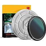 KODAK 49mm Fader Variable ND Filter | Variable Range ND2-2000 Neutral Density Filter, Prevent Overexposure w/Shallow Depth of