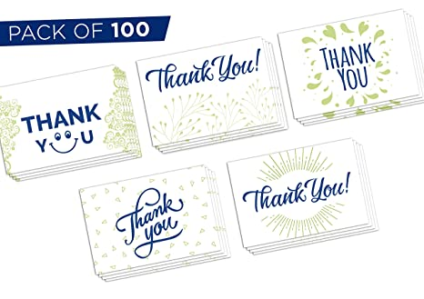 Amazon Thank You Cards Bulk