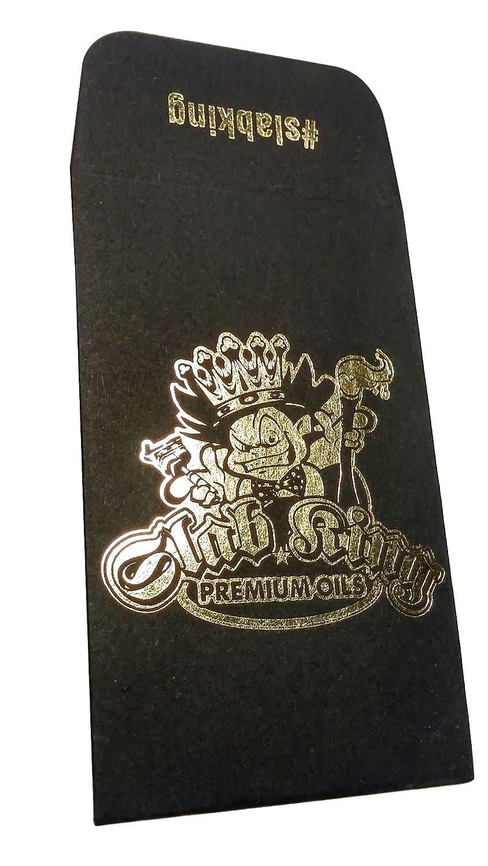 500 Original Black Gold Slab King Wax Shatter Labels Coin Foil Envelopes #029