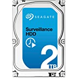 Seagate Surveillance HDD - 2 TB - interne Festplatte, ST2000VX003 (3,5 Zoll), 64 MB Cache, SATA III für den Überwachungsbereich