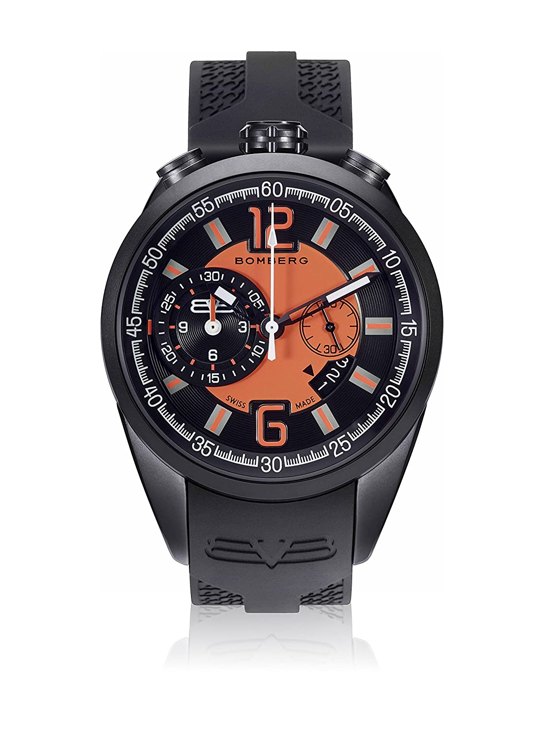 Bomberg NS44CHPBA.0086.2 1968 collection Uhren - Swiss Made - 44 mm