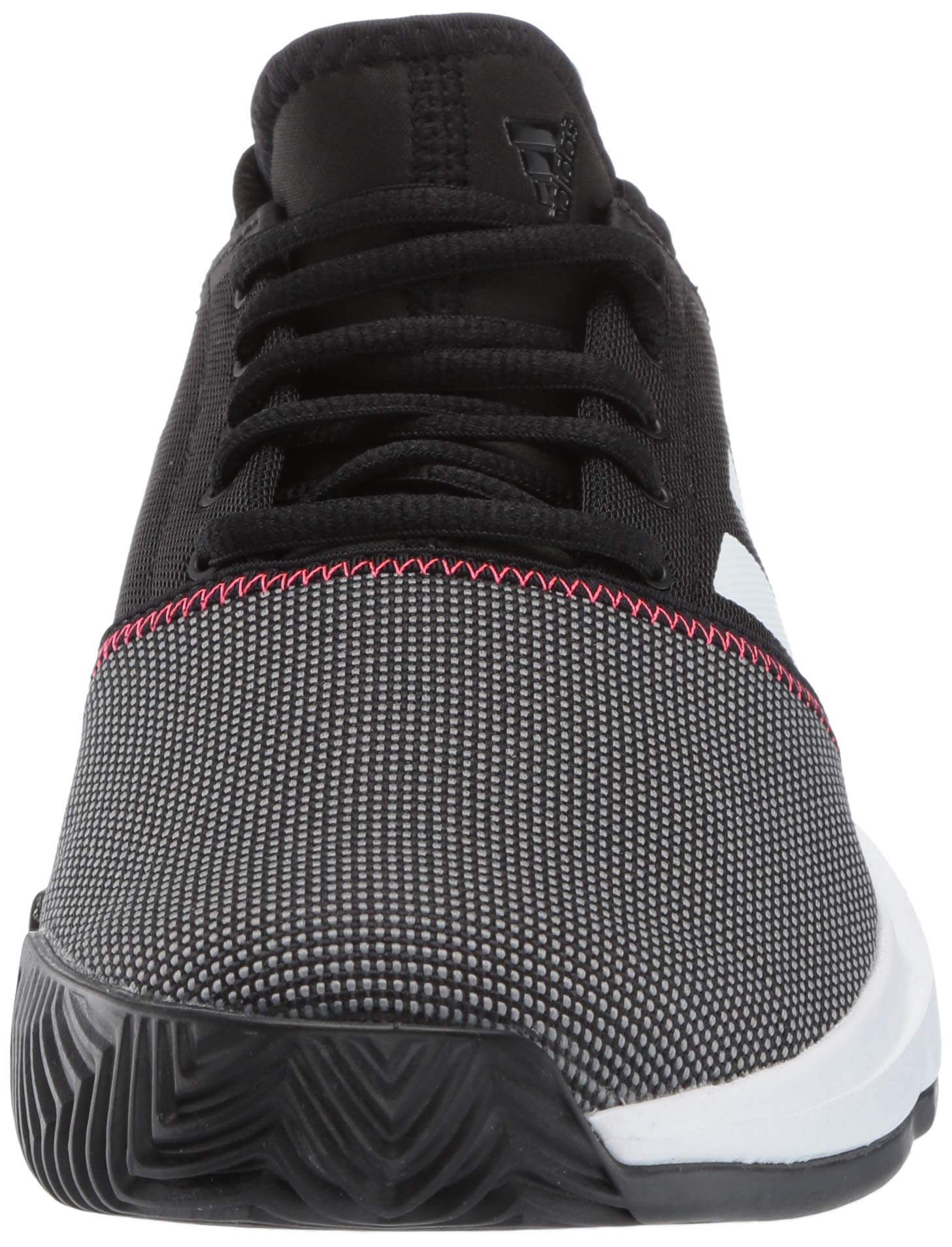 adidas Men's Gamecourt, Black/White/Shock red, 6.5 M US by adidas (Image #4)