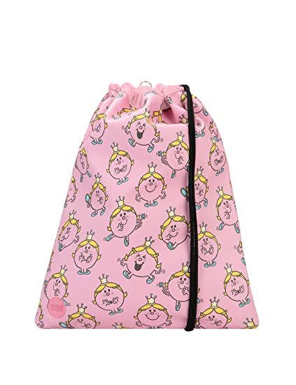 Mi-Pac Kit Bag Little Miss Princess Sac à cordon, 47 cm, (Pink)