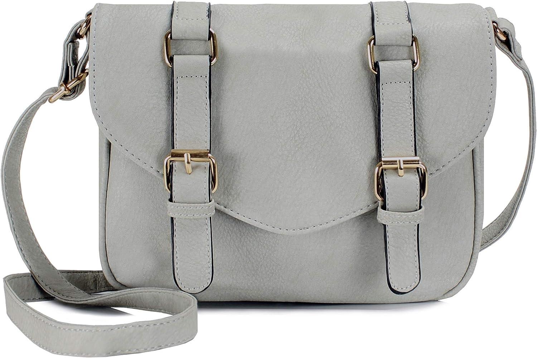 Scarleton Decorative Front Belt Crossbody Bag H1725
