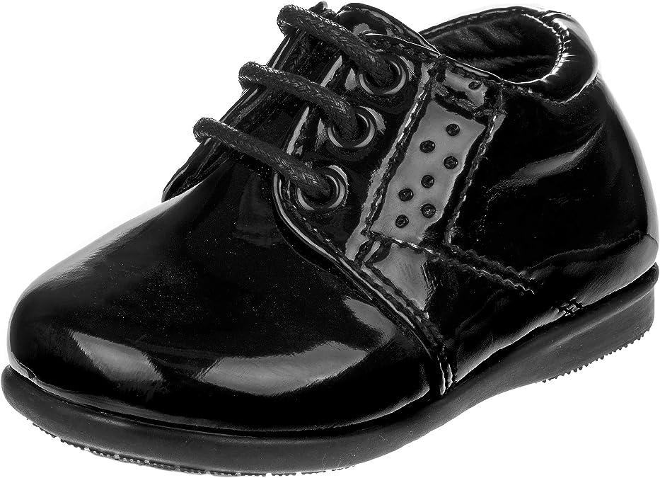 Josmo Baby Boys First Steps Walking Dress Shoe Infant, Toddler