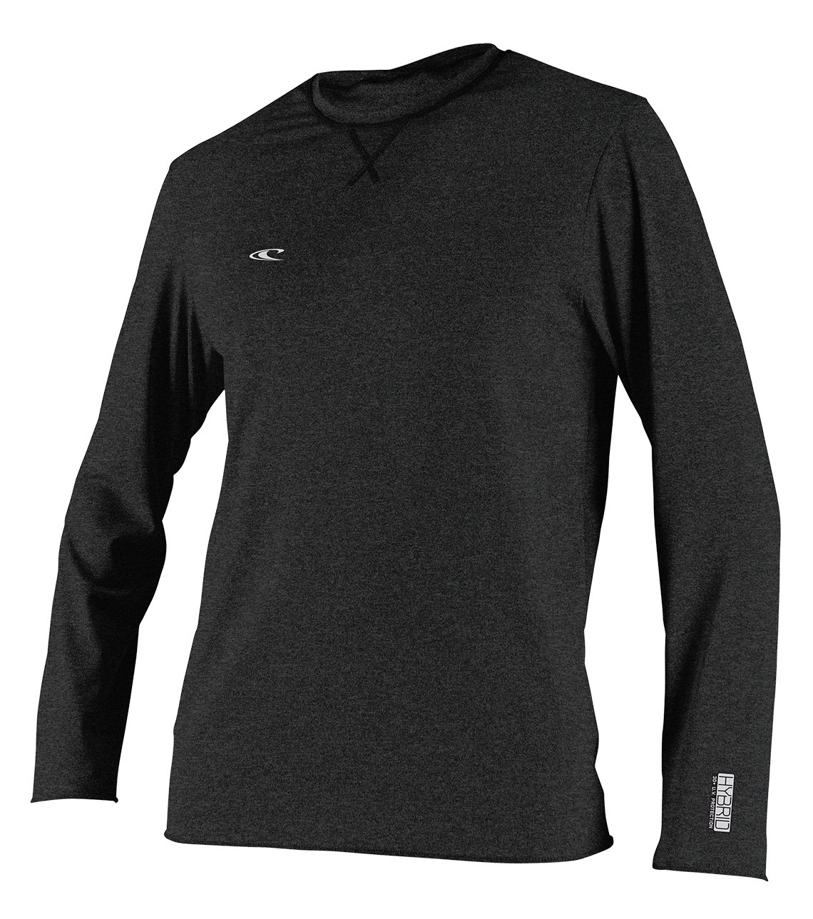 O'Neill Wetsuits  Men's Hybrid UPF 50+ Long Sleeve Sun Shirt,Black,XX-Large by O'Neill Wetsuits