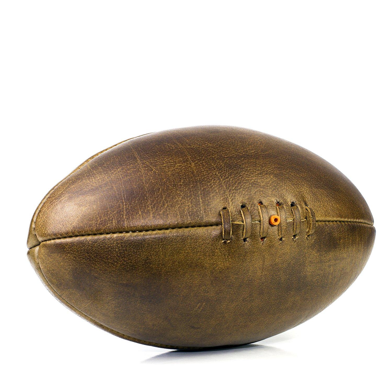 We Print Balls Bola de Rugby de Piel Vintage Personalizada: Amazon ...