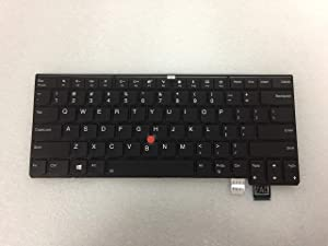 TellusRem Replacement Keyboard Compatible with Lenovo T470s US Backlit Keyboard