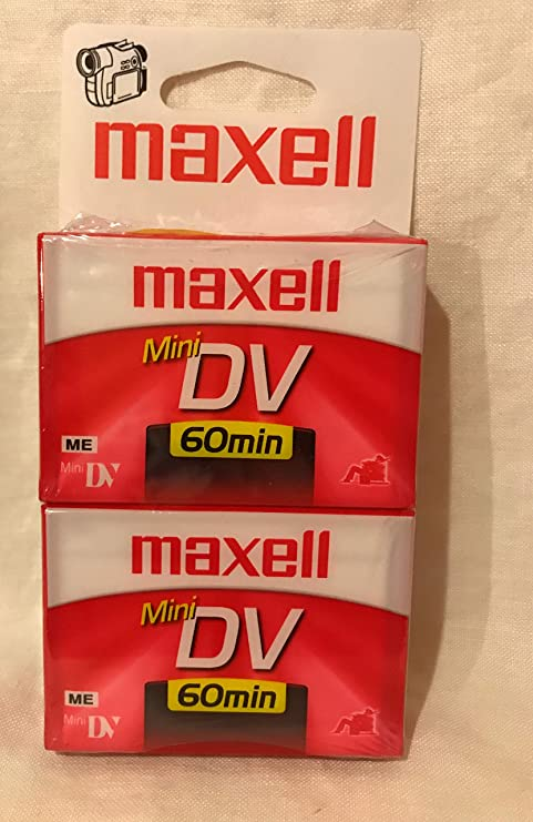MAXELL 298012 Mini Digital Video Tapes (60 min, 2 pk)