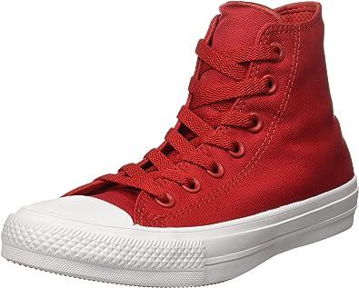 Converse 150145C, Montantes Femme Rouge Rot, 37,5 EU