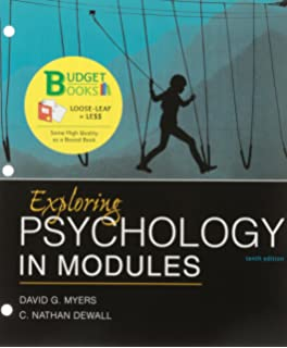 Amazon Com Launchpad For Myers S Exploring Psychology In Modules