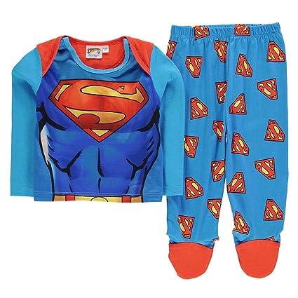 Amazon.com: Superman 2 piezas Conjunto de pijama para bebé ...