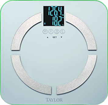 Taylor 5751 Taylor Cal-max Body Analyzer Scale In Frosted Glass Look