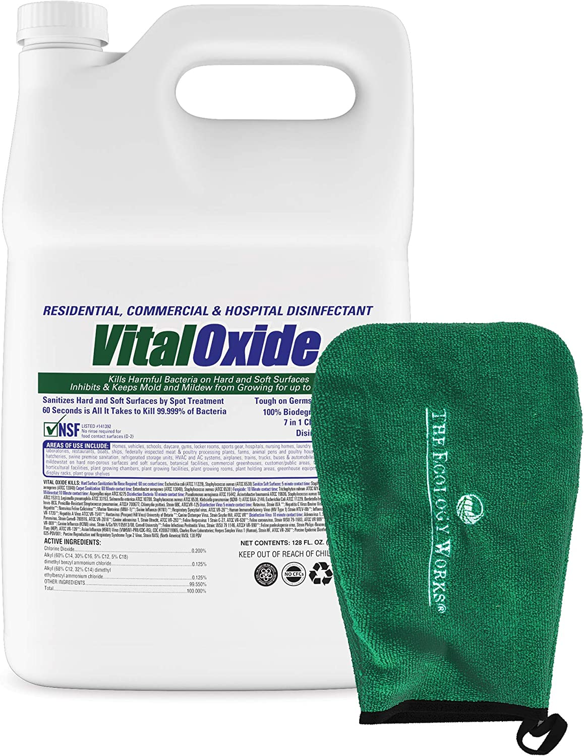 Vital Oxide Disinfectant /& Sanitizer EPA Approved//Hospital Grade