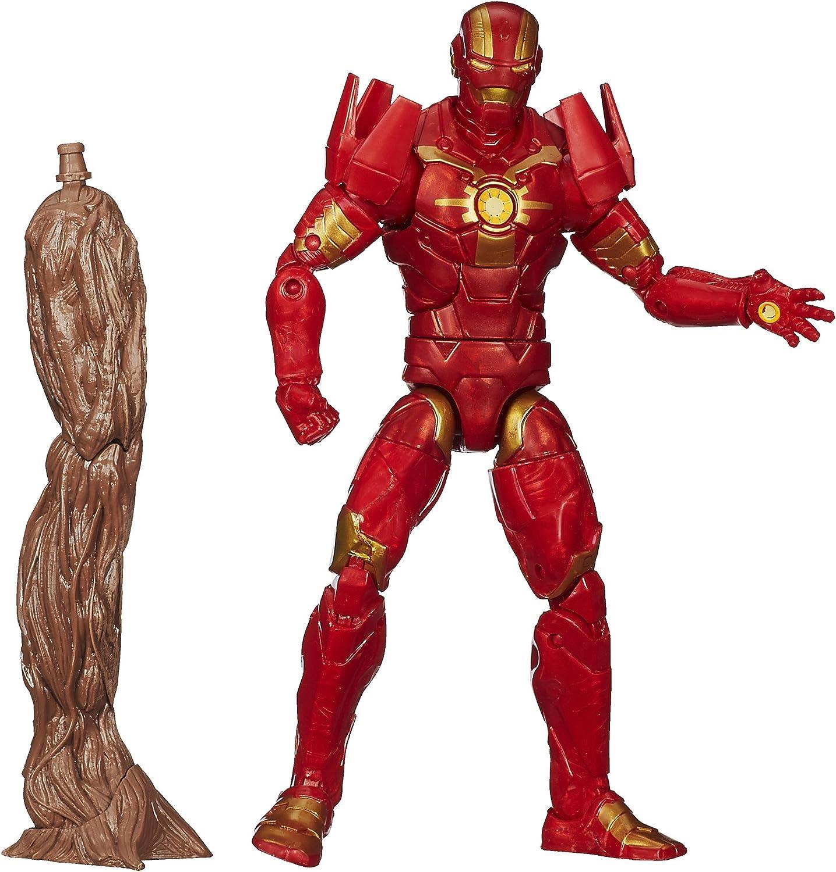 Nova-Guardians of the Galaxy Marvel Legends Infinite w//BAF Groot Arm by Hasbro
