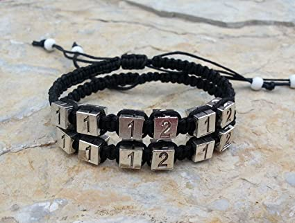 6d6919e341d8 Amazon.com  Meet Date Anniversary Bracelets