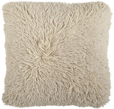 Oversized Shaggy Pillow - Tan | Pier 1 Imports