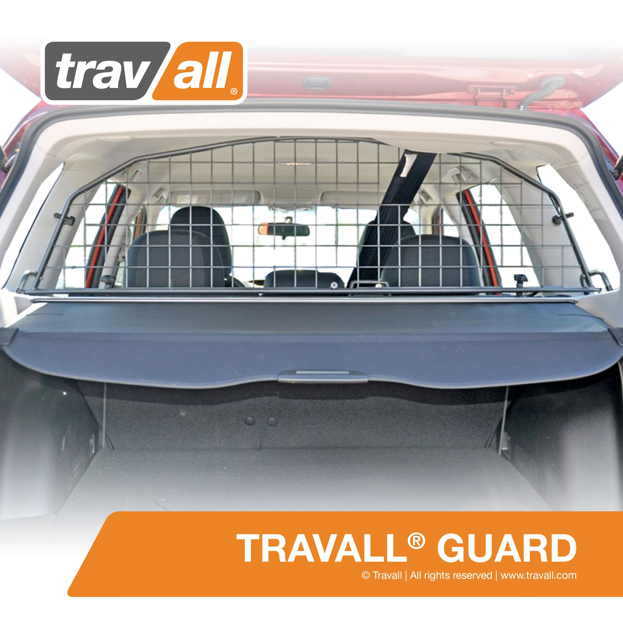 SUBARU Forester Pet Barrier (2008-2012) - Original Travall Guard TDG1181 [MODELS WITHOUT SUNROOF ONLY]